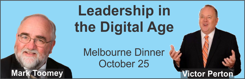 Leadership in the Digital Age - melbourne Lunch Sept 19, 2017